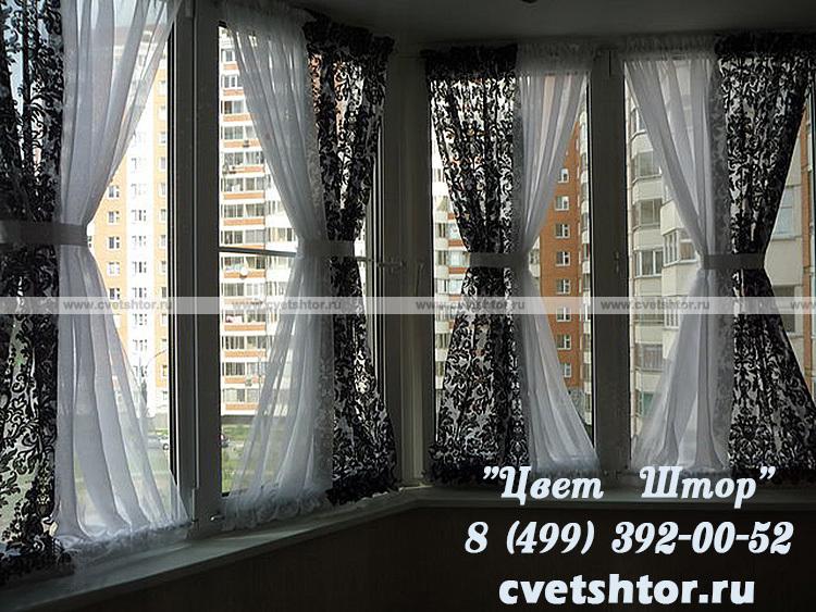Шторы на ассиметричные окна