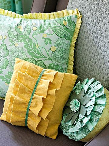 Как сшить чехлы на подушки своими руками