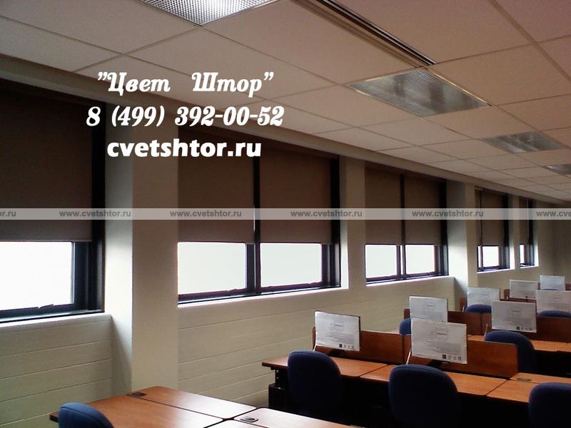 рулонные шторы с электроприводом компания цвет штор Www