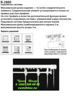 Карнизы для римских штор