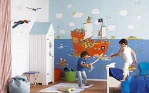 Детские обои для стен