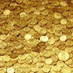 Золотые фрески Fabric Gold